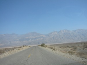 Death Valley ahead