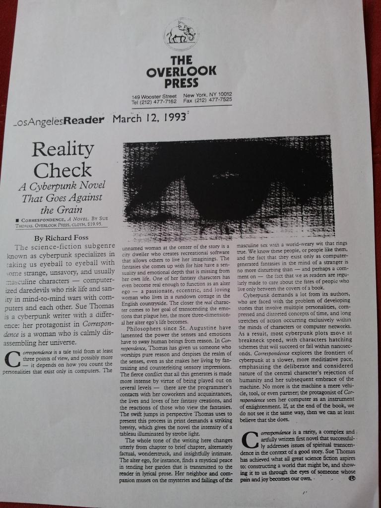 LA Reader March 1993