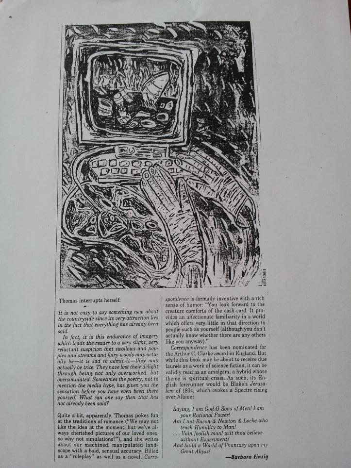Village Voice March 1993, page 2