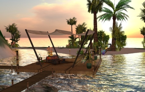 Santaluz Inlet, Second Life