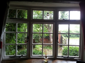 English cottage window