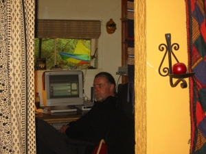 Randy in his home office October 2003