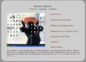 Randy Adams trAce studio