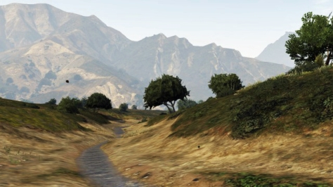 Mountains in Grand Theft Auto V (Photo: Adam Thwaites)