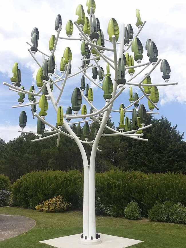 New Wind Turbine Looks Like a Tree