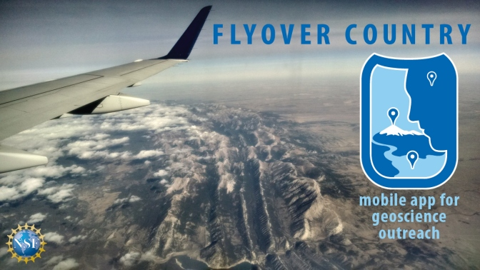 Flyover Country. Boring flight? Find out what lies beneath.