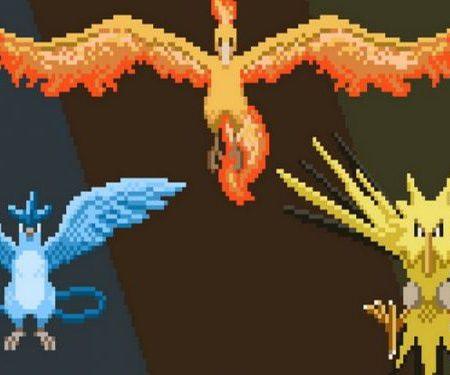 Pokemon Go birds