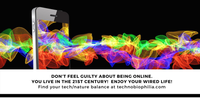 TIP: Don't feel guilty about being online