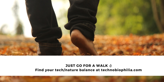 TIP: Just go for a walk :)