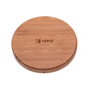 Wireless Charger by Keple. Bamboo. £12.99*
