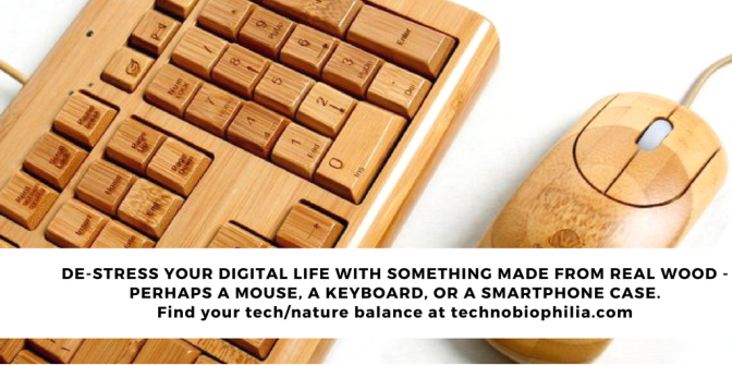 Add wood to your digital life and de-stress TIP 2/7 Series 2