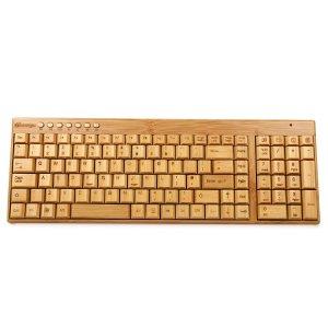 Sengu 2.4GHz SG-KG201-N Full Bamboo Handmade Wireless keyboard(the British version) £27.99*