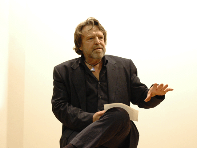 RIP John Perry Barlow. The rancher who made cyberspace his territory.