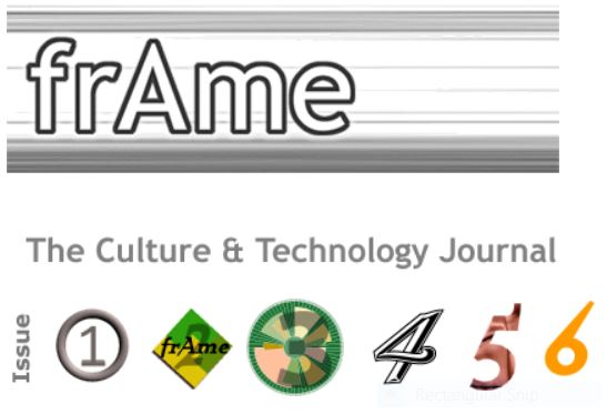 frAme : the Culture and Technology Journal 1999-2004