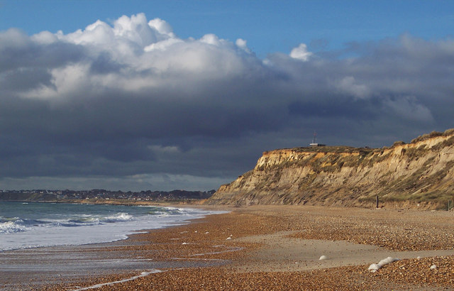 Pending Storm over Hengistbury Head - geograph.org.uk -