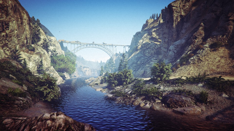 Cassidy Creek in GTA V.